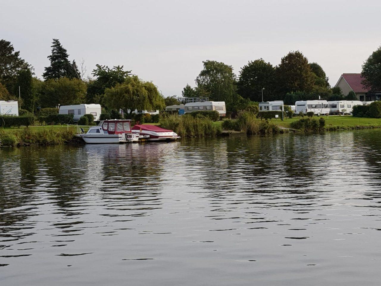Der Campingplatz  Weser Camping Bollen