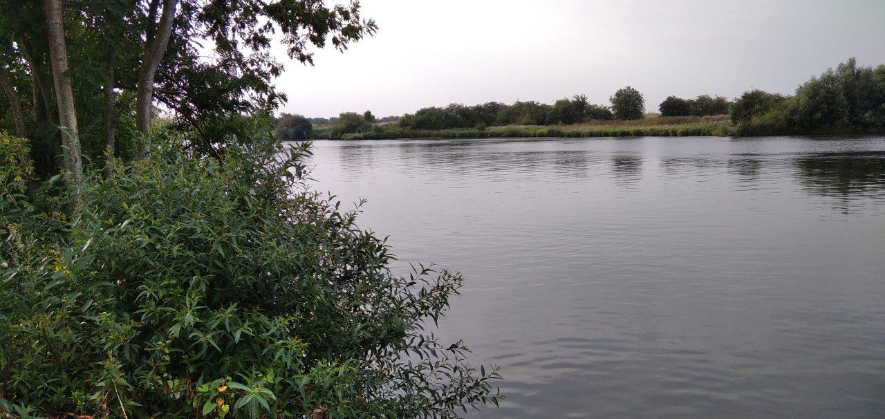 Campingidylle an der Weser