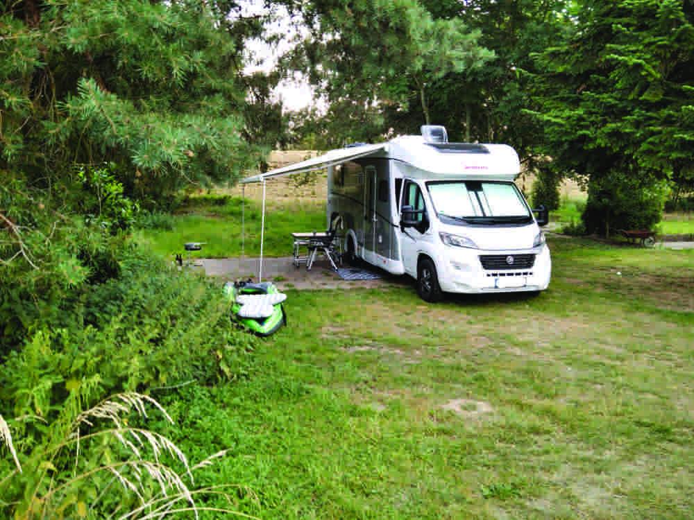 Urlaub an der Weser. Urlaub am Weser-Camping-Bollen